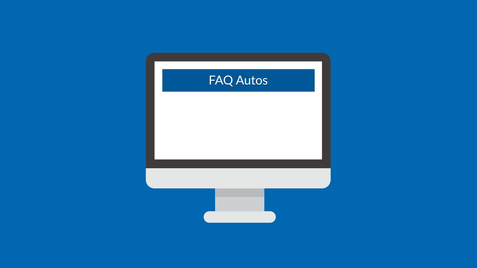 FAQ – Autos